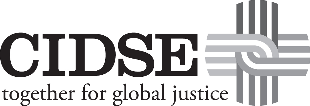 CIDSE logo UK gray
