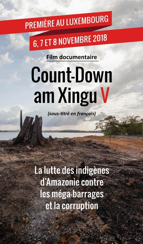 Count Down am Xingu Premiere